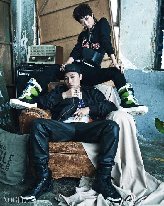 2014.10, Vogue, Taewan (C-Luv), Hwang Se On