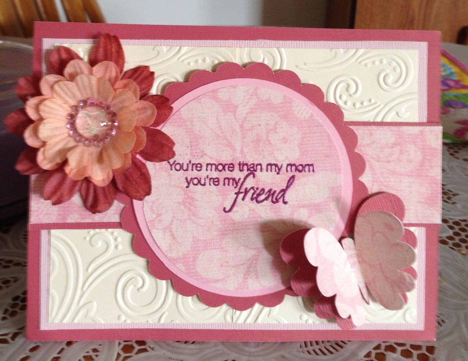 Mother's  Day Idea from Pinterest, Thank you! 3/13