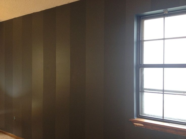 Gloss Matte Striped Wall Painting Stripes On Walls