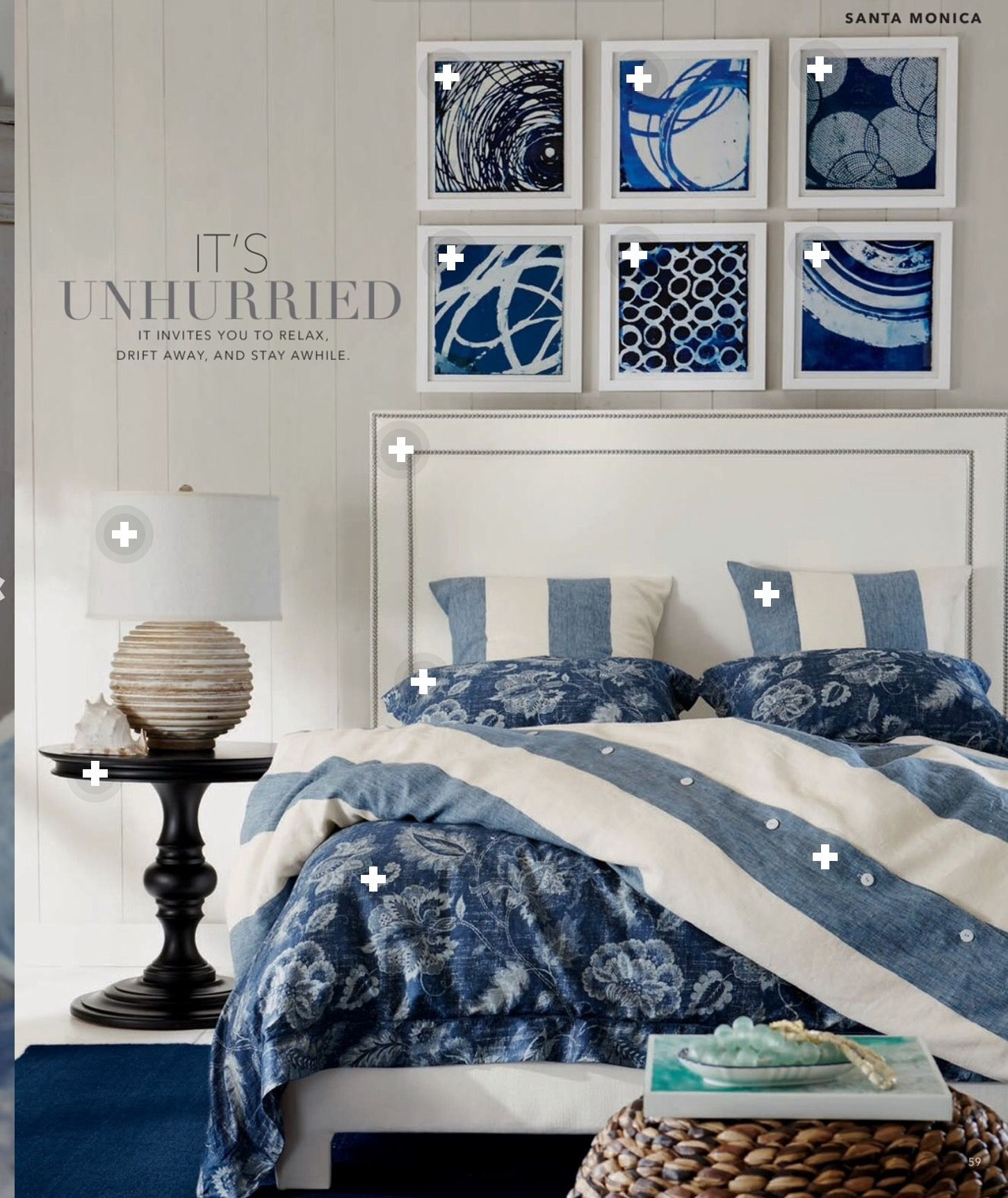 Pin by Anita Colon on Walls !!! Navy white bedrooms