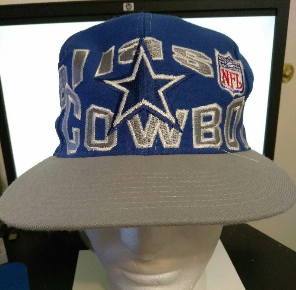 77b5b9e3 Dallas Cowboys Vintage Apex One Blue NFL Pro Line Snapback Hat Cap 1990s  Triplet #ApexOne #DallasCowboys