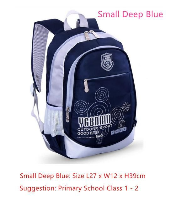 kids small bag school bags for boys school backpack bookbag children  backpacks blue waterproof nylon book bag girl schoolbag ceeafda4b8412