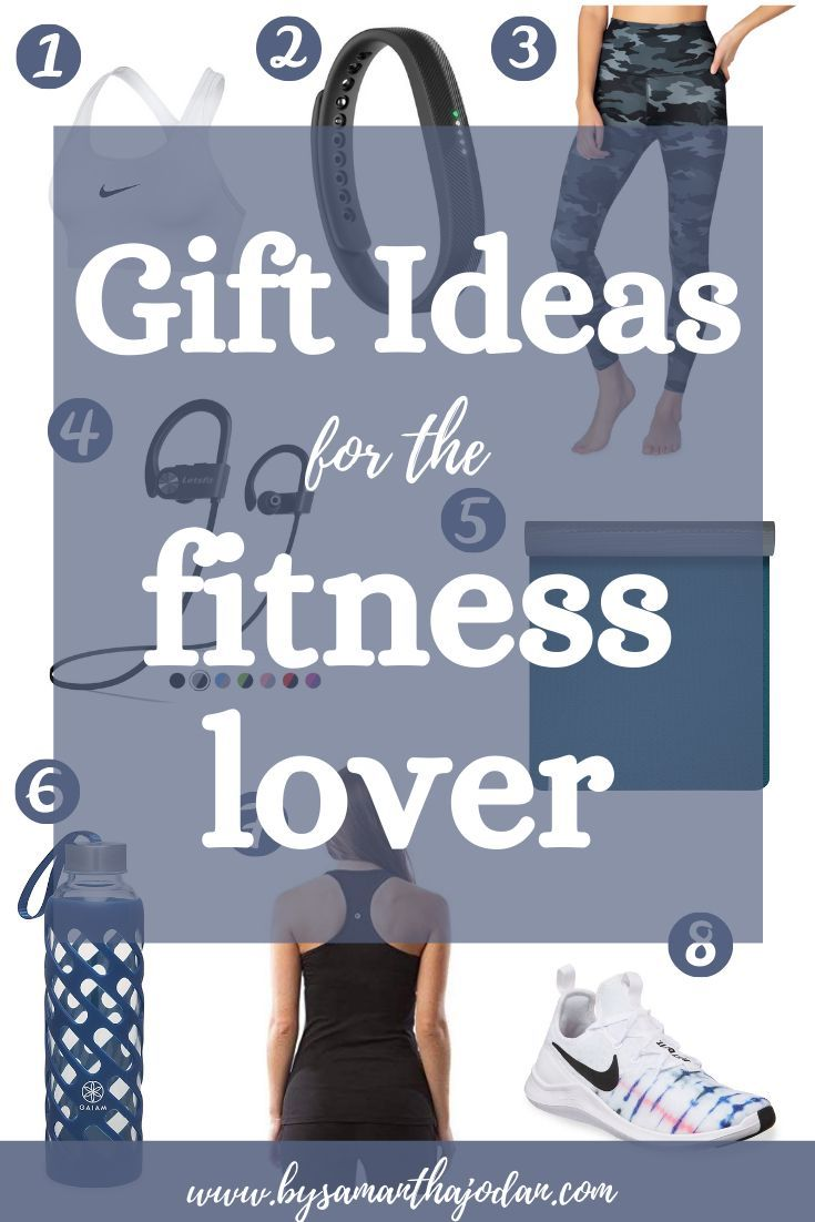 Gift guide for the fitness loving exercising person in