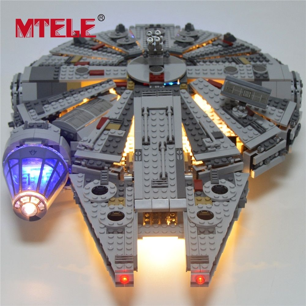 LED Light Kit For Lego Star War 75105 //05007 Millennium Falcon Building Lighting