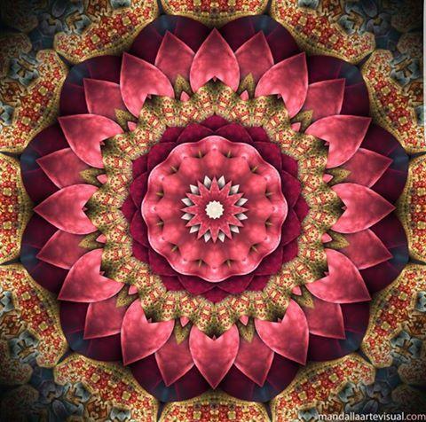 Mandala da prosperidade desenvolvida de acordo com a for Cuadros mandalas feng shui decoracion mandalas