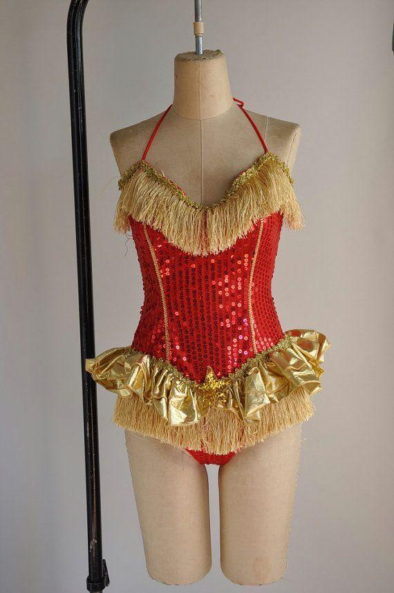 7ec0b1ee4 Cirque de la Lune | Vintage 50s Sequin Cabaret Leotard | 1950s Showgirl  Bodysuit | Sequins, Cabaret and Bodysuit