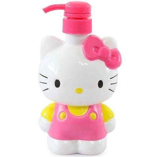 Hello Kitty Pump Bottle Pink 500ml Bathroom Dispenser Soap Shampoo Shower Ebay