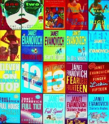 Janet Evanovich, Jersey bad-ass, cause neon covered novels always offer an entertaining read.