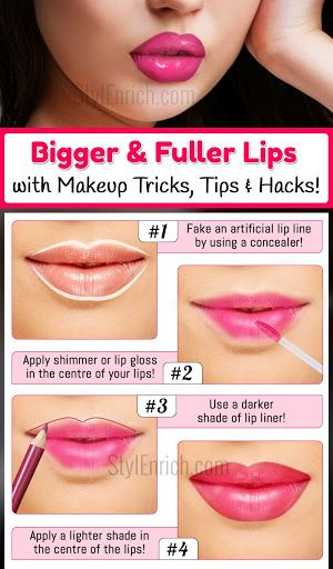 Lazy Girls Ways on How to Get Bigger Lips Women Beauty Tips