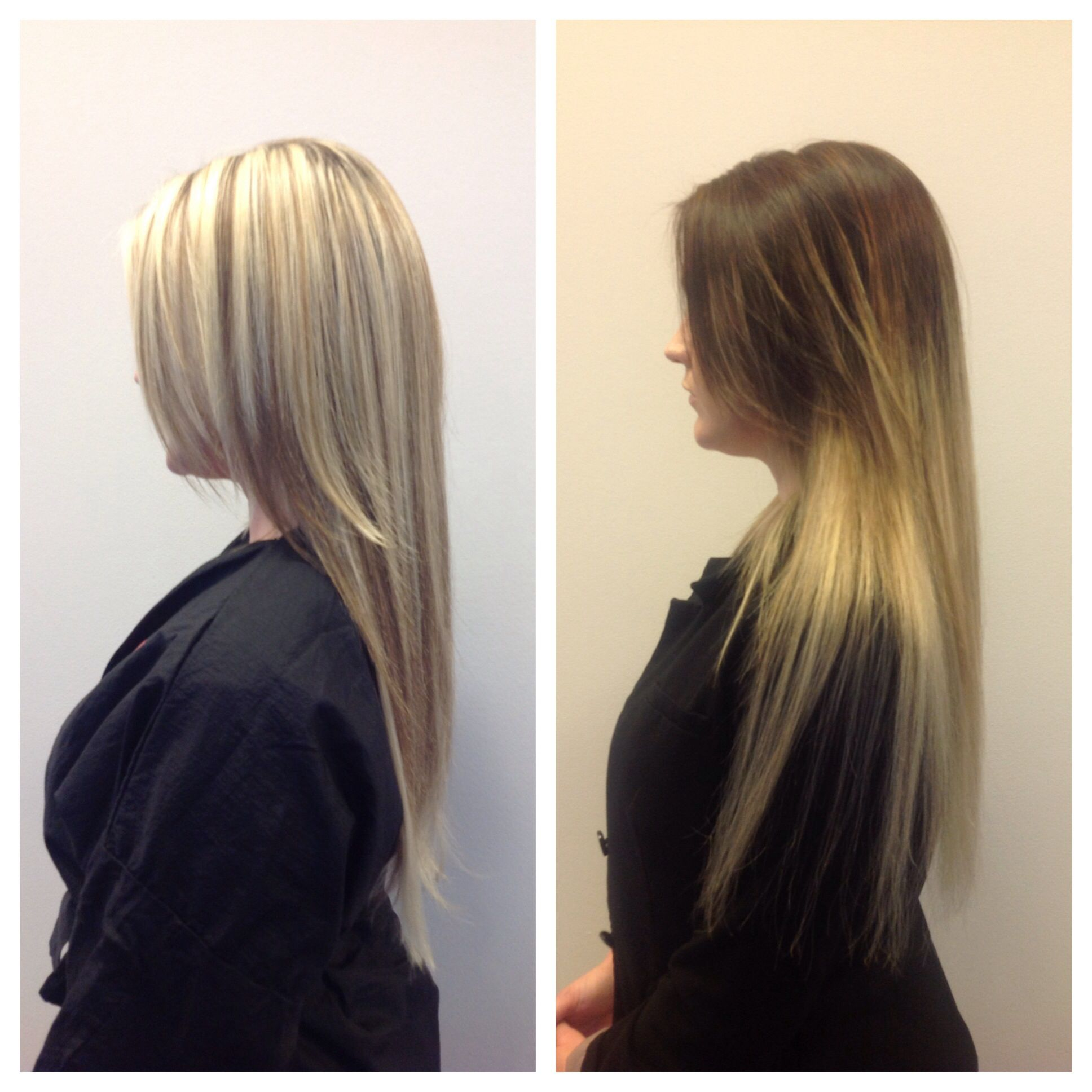Dramatic Ombr Dres Hair Salon Scottsdale Az Before After