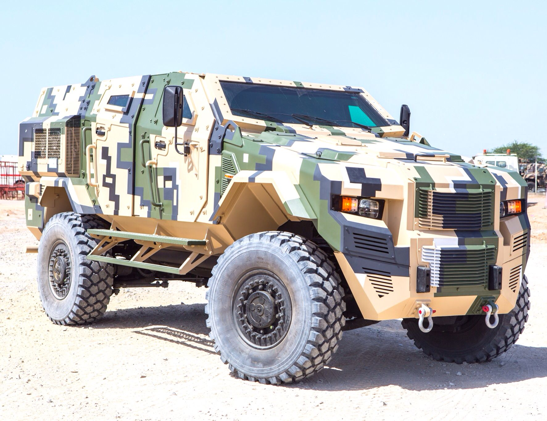 Configuration options available upon request sales@armored ...