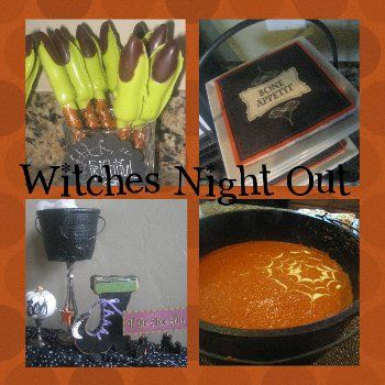 Witches Night Out Witch party, Witches and Halloween birthday - halloween ideas party
