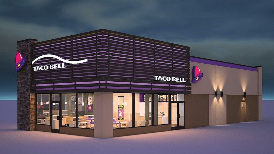 Image Result For New Taco Bell Store Design Design Restaurant