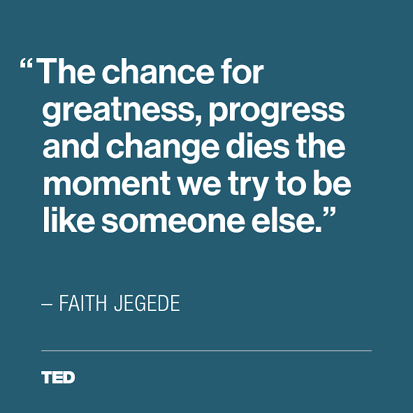 From Faith Jegede S Powerful Talk On What She Learned From Her Autistic Brothers Ted Quotes Inspirational Quotes Wisdom Quotes