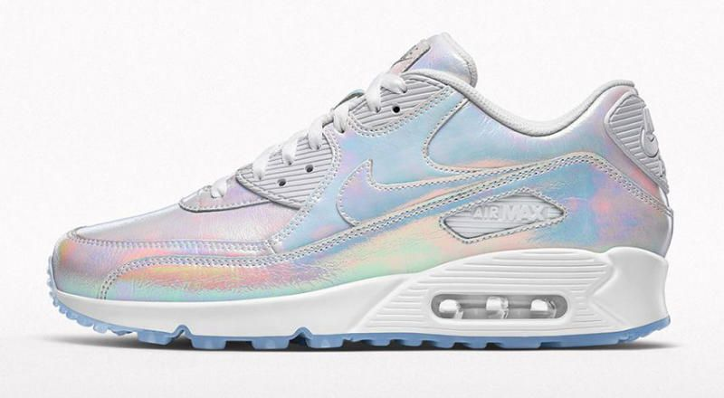 Iridescent Nike Air Max 90 Solecollector Women's Sneakers