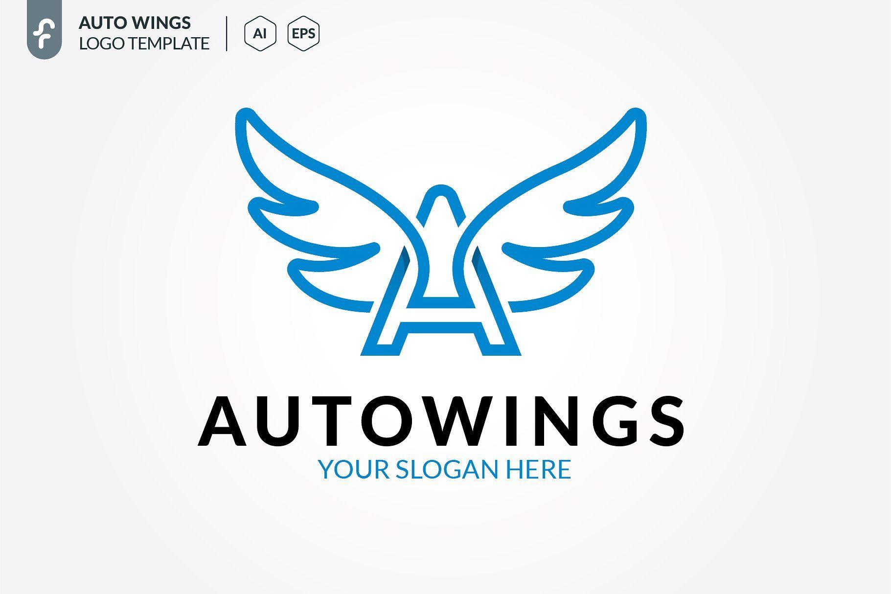 Auto Wings Logo En 2020 Trajes De Bano Trajes