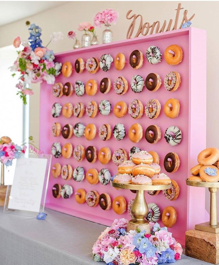 Must Have Donut Wall At My Wedding