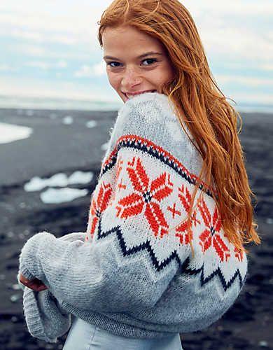 Aerie Oversized Fair Isle Sweater   Sweaters   Pinterest   Fashion