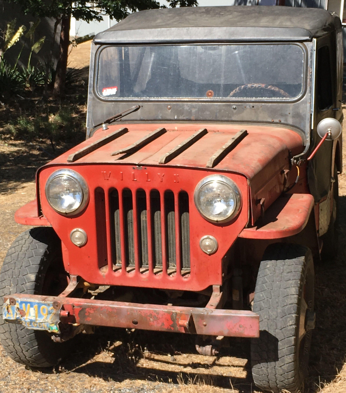 54 Jeep Cj3b Willys Jeep Jeep Cj Willys