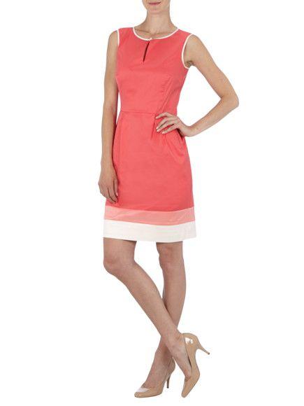 Esprit Collection Kleid Mit Kontrastdetails In Rot Online Kaufen 9276982 Modestil Kleider Bekleidungsstile