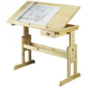 how to build a drafting table plans