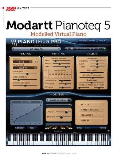"I saw this in ""Modartt Pianoteq 5 Modelled Virtual Piano"" in Sound On Sound (UK) April 2015."