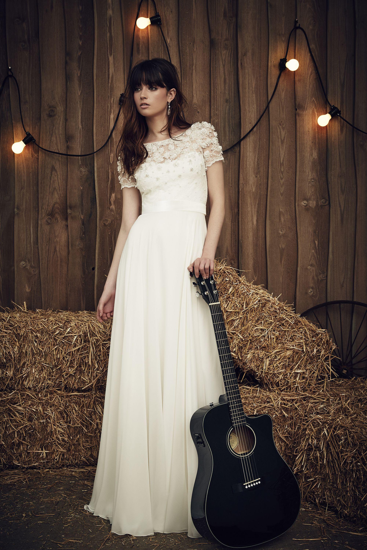 Jenny Packham Taylor   kleid   Pinterest   Brautkleider, boho ...
