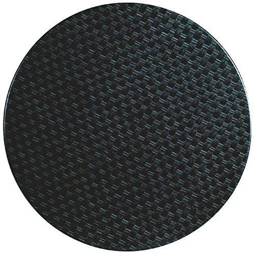 Werzalit Plus Cg662 Round Table Top 600 Mm Rattan Anthracite