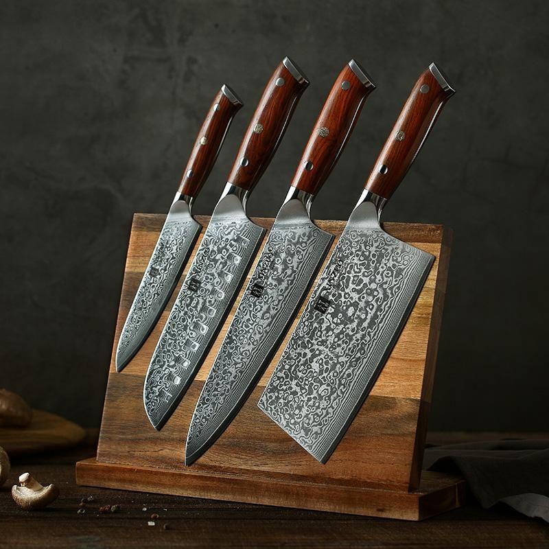 Kitchen Knife Kitchen Knives Cutlery Food Preparation Chef Knife Pairing Knife Santoku Knife Cle Knife Set Kitchen Damascus Kitchen Knives Kitchen Knives