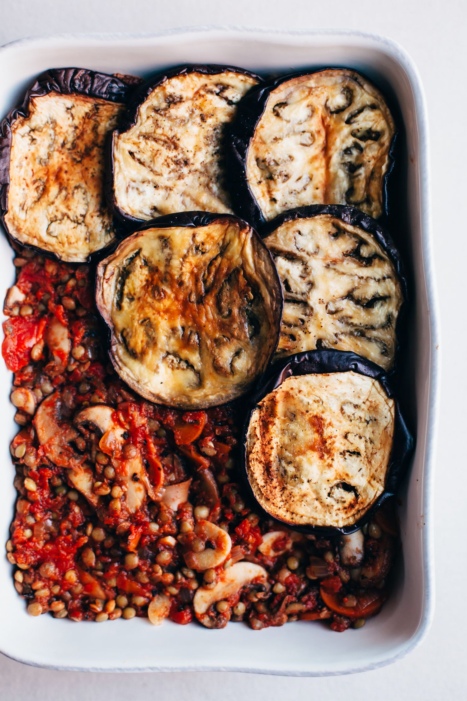 Vegan Lentil Moussaka Golubka Kitchen Recipe Vegan Moussaka Lentils Food