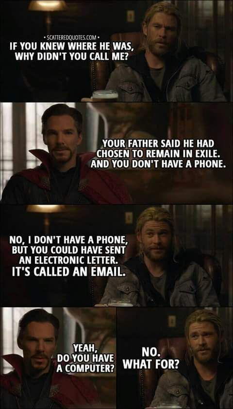 One of my Favorite Scenes in the MCU Marvel quotes