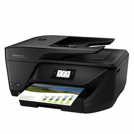 Hp Officejet Pro 6958 All In One Color Inkjet Printer Inkjet Printer Hp Officejet Printer