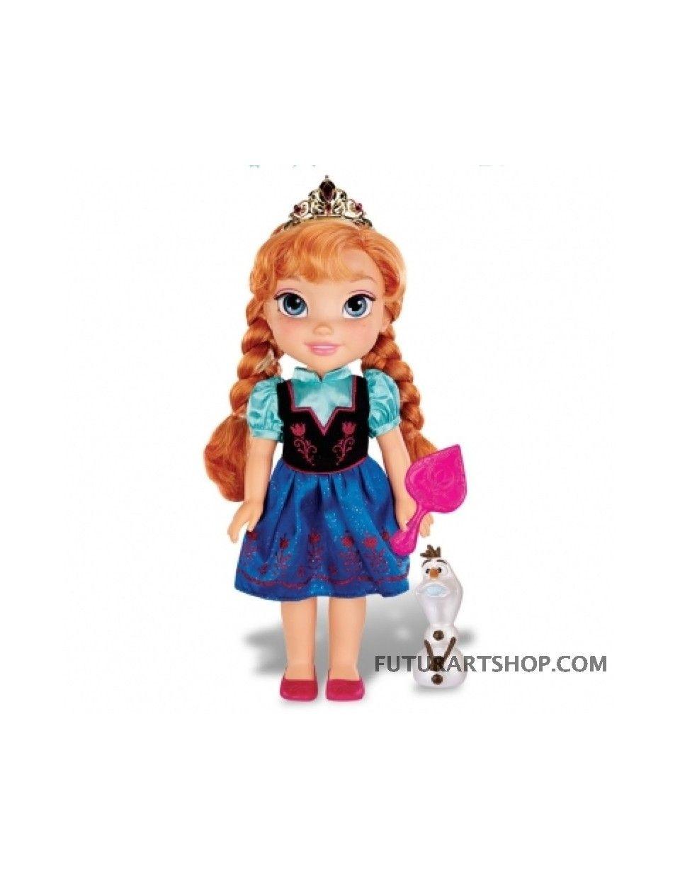 Bambola frozen Anna alta 35 cm Giochi Preziosi GPZ18475