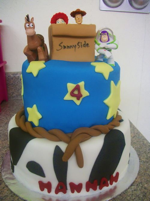 Toy Story Cake Ideas Easy Best Birthday Cakes Pinterest Toy