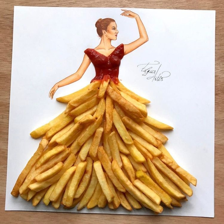 3D Fashion Illustrations Use Unexpected Objects to Create Magnificent Evening Dresses
