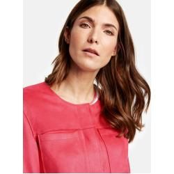 Photo of Gerry Weber Blazerjacke mit Velourstouch Spiced Coral Damen Gerry Weber