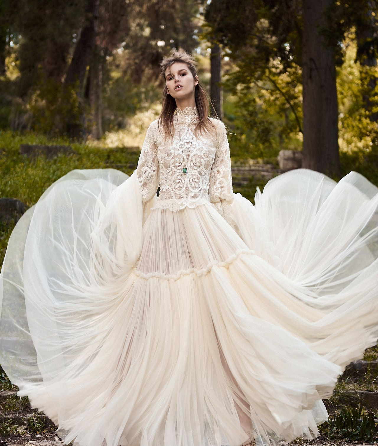The best looks from bridal fashion weekthis dreamy costarellos