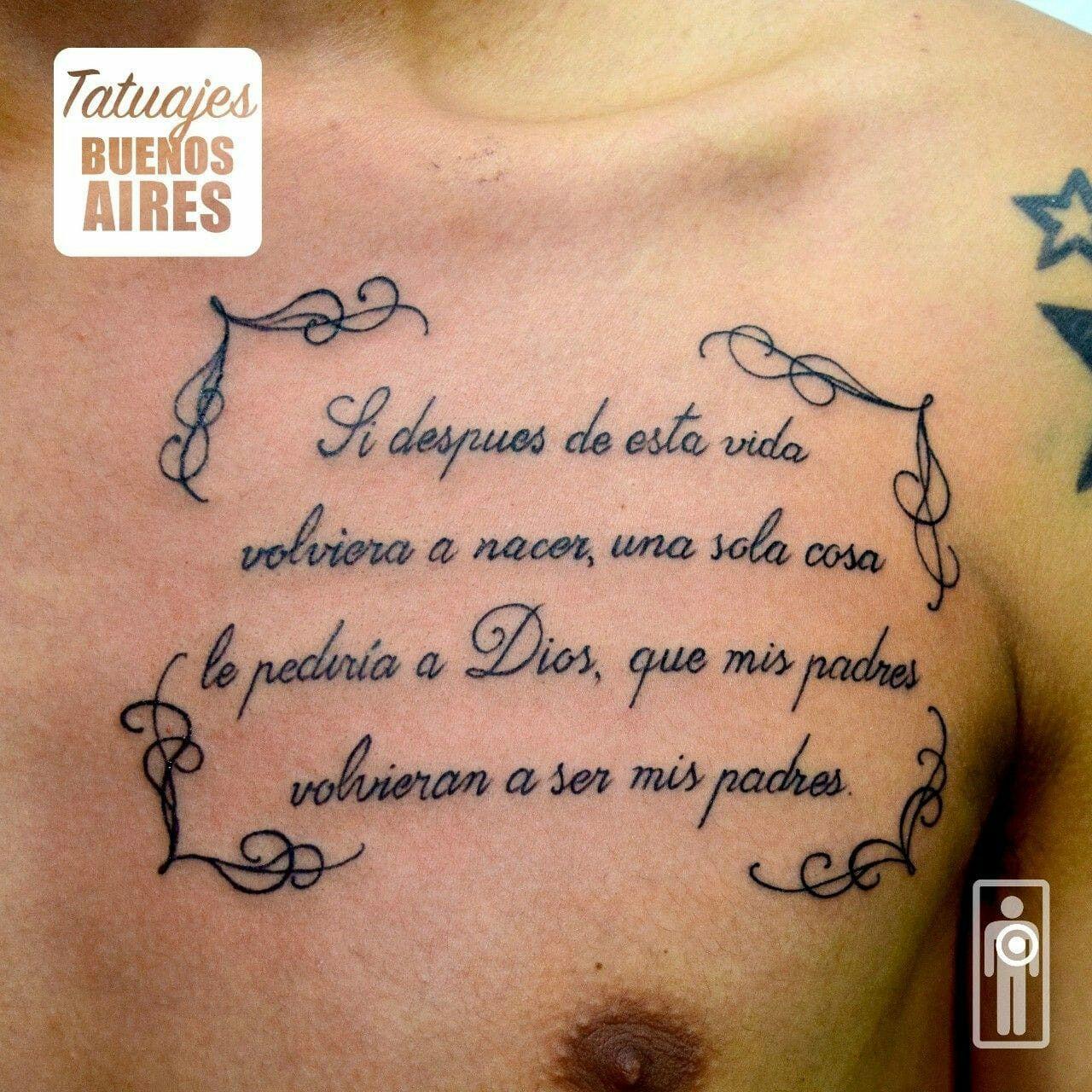 Tatuajes En Honor A Los Padres
