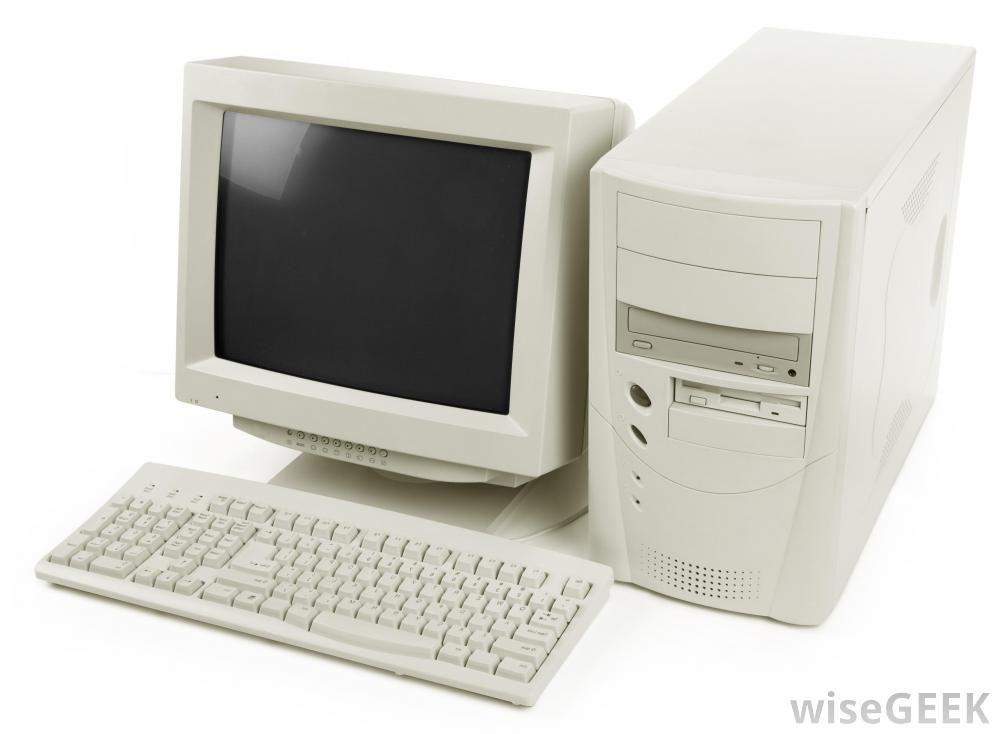 Old Hp Desktop Computers Computer Sticker Old Computers