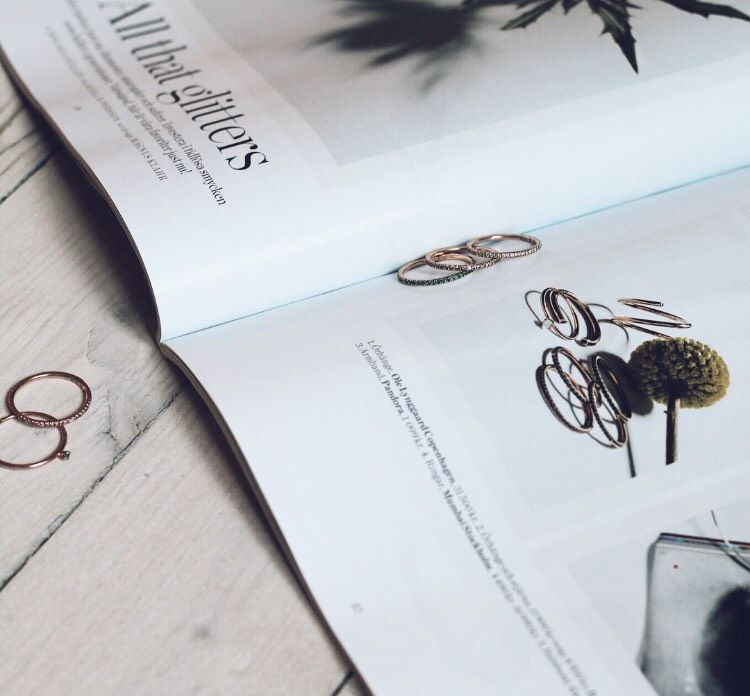 A selection of our rings in the latest Style By, Dec 2016