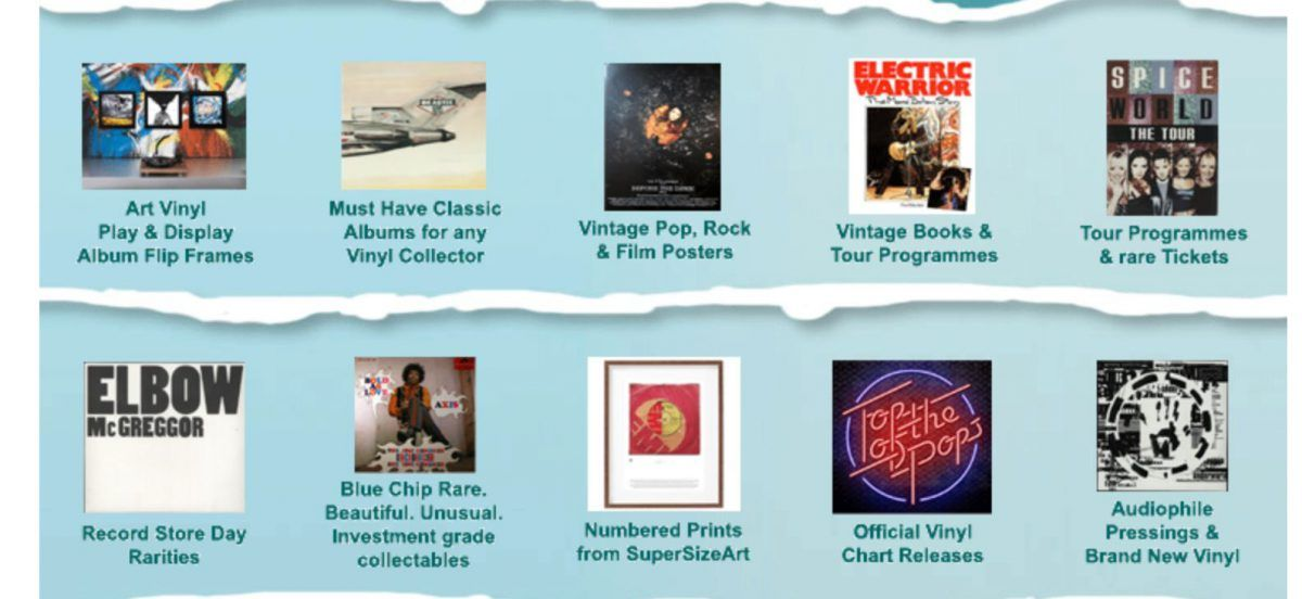 Our Christmas Store Is Open Find Gift Ideas For Music Lovers Vinyl Collectors At Eil Com Vinyl Collectors Music Lovers Rare Vinyl Records