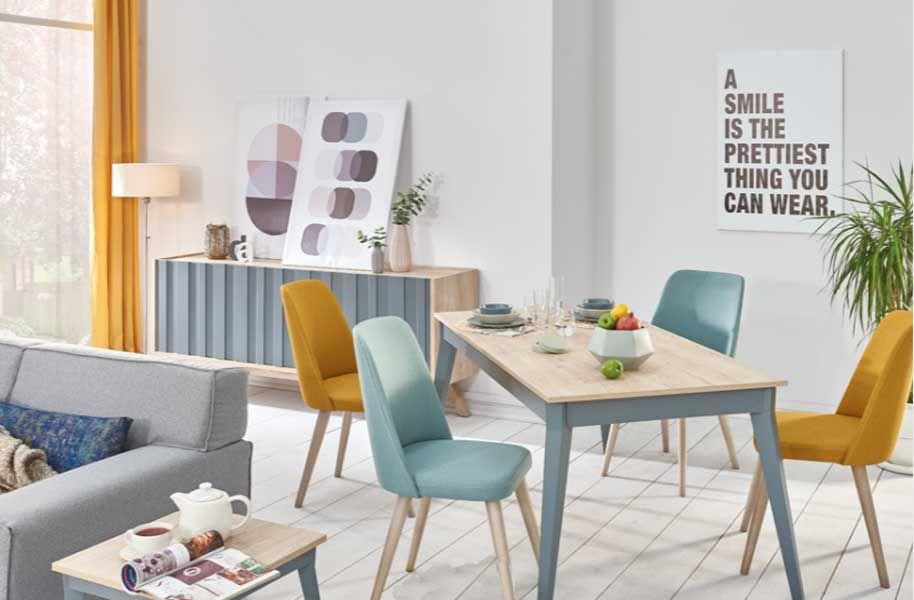 Guzzo Ildır Salon Masa Sandalye Takımı