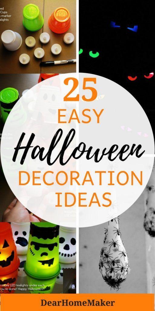 25 Easy Halloween Decoration Ideas for this Season Halloween