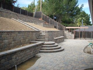 Los Altos Hills Backyard - traditional - exterior - san francisco - by Bay Area Exteriors