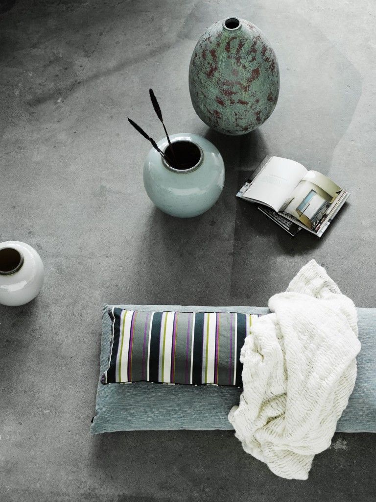 Scandinavian Design by NORR11: jar Jumba, vase Sparrow, cushions Polka and Ernie.