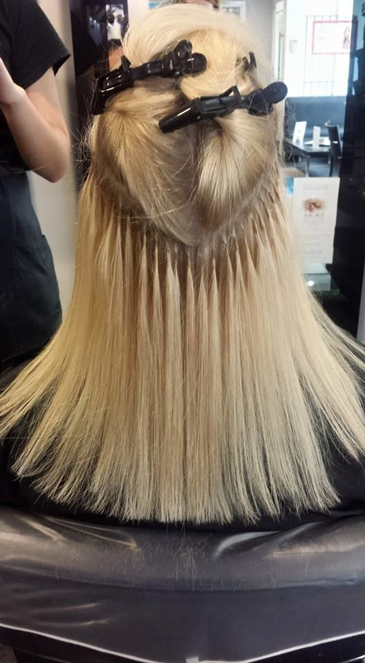 Half Of The Extensions Fitted Great Lengths Hair Extensions By