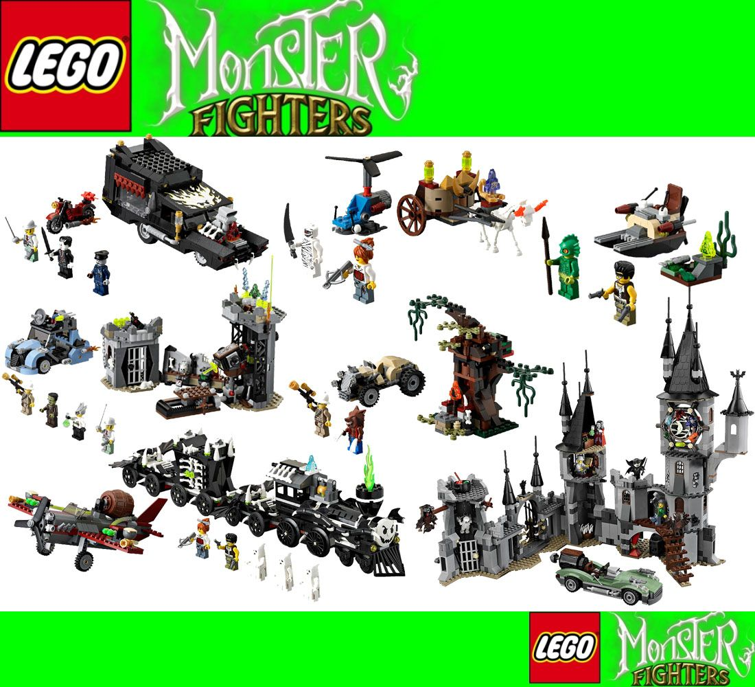 lego monster fighters complete collection 9468 9467 9466 9464 9463 9462 9461 - Lego Monstre