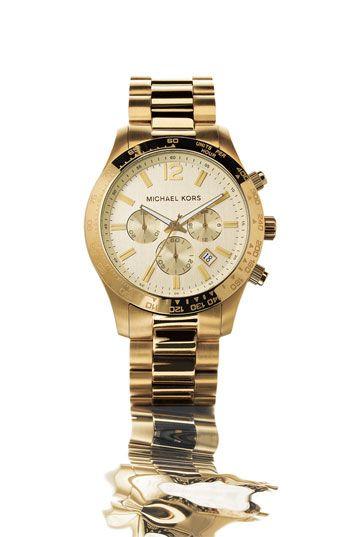 4e6aa12c2278 Michael Kors  Large Layton  Chronograph watch