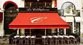 Le Castiglione 235 rue St. Honore 75001, Paris 01-42.60.68.22 6am-12-am Uber trendy during fashion week