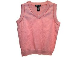 red striped vest assorted sizes ( Case of 18 )